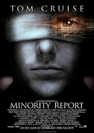 Minority Report - German Movie Poster (xs thumbnail)