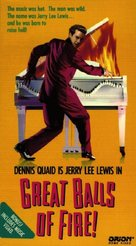 Great Balls Of Fire - VHS cover (xs thumbnail)