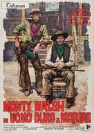 Monte Walsh - Italian Movie Poster (xs thumbnail)