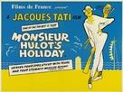 Les vacances de Monsieur Hulot - British Movie Poster (xs thumbnail)