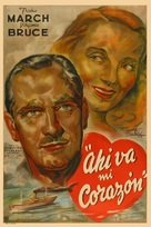 There Goes My Heart - Argentinian Movie Poster (xs thumbnail)