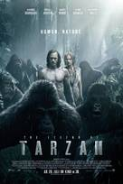 The Legend of Tarzan - Swiss Movie Poster (xs thumbnail)