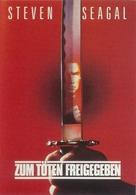 Marked For Death - German Movie Poster (xs thumbnail)