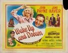 Wake Up and Dream - British Movie Poster (xs thumbnail)