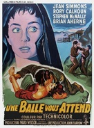 A Bullet Is Waiting - French Movie Poster (xs thumbnail)