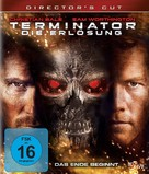 Terminator Salvation - German Blu-Ray cover (xs thumbnail)