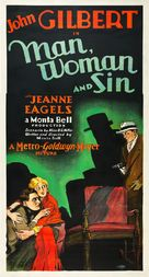 Man, Woman and Sin - Movie Poster (xs thumbnail)