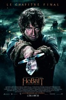 The Hobbit: The Battle of the Five Armies - Swiss Movie Poster (xs thumbnail)