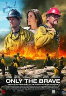 Only the Brave - Lebanese Movie Poster (xs thumbnail)
