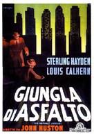 The Asphalt Jungle - Italian Movie Poster (xs thumbnail)
