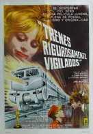 Ostre sledované vlaky - Argentinian Movie Poster (xs thumbnail)
