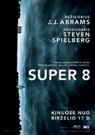 Super 8 - Lithuanian Movie Poster (xs thumbnail)