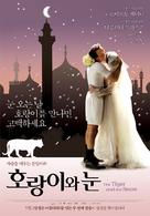 Tigre e la neve, La - South Korean Movie Poster (xs thumbnail)