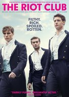The Riot Club - DVD cover (xs thumbnail)