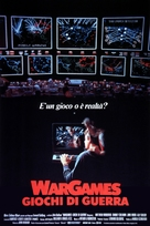 WarGames - Italian Theatrical movie poster (xs thumbnail)