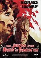 Les expériences érotiques de Frankenstein - German DVD cover (xs thumbnail)