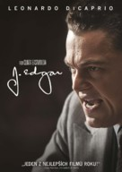 J. Edgar - Czech DVD cover (xs thumbnail)
