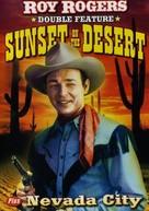 Sunset on the Desert - DVD cover (xs thumbnail)