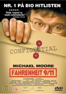 Fahrenheit 9/11 - Danish Movie Cover (xs thumbnail)