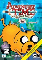 """""""Adventure Time with Finn and Jake"""" - Danish Movie Cover (xs thumbnail)"""