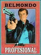 Le professionnel - Czech DVD cover (xs thumbnail)