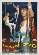 Trapeze - Italian Movie Poster (xs thumbnail)