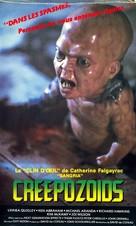 Creepozoids - French Movie Cover (xs thumbnail)