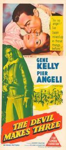 The Devil Makes Three - Australian Movie Poster (xs thumbnail)