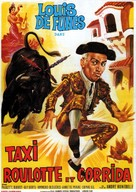 Taxi, Roulotte et Corrida - French Movie Poster (xs thumbnail)