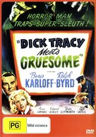 Dick Tracy Meets Gruesome - Australian DVD cover (xs thumbnail)