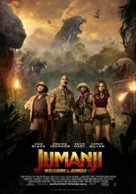 Jumanji: Welcome to the Jungle - Finnish Movie Poster (xs thumbnail)