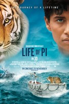 Life of Pi - Theatrical poster (xs thumbnail)