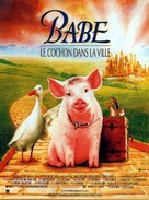 Babe: Pig in the City - French Movie Poster (xs thumbnail)
