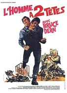 The Incredible 2-Headed Transplant - French Movie Poster (xs thumbnail)