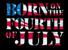Born on the Fourth of July - Logo (xs thumbnail)