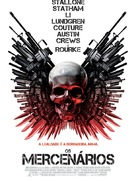 The Expendables - Portuguese Movie Poster (xs thumbnail)