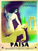 Paisà - French Movie Poster (xs thumbnail)