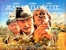 Jean de Florette - British Movie Poster (xs thumbnail)