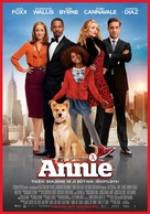 Annie - Lithuanian Movie Poster (xs thumbnail)