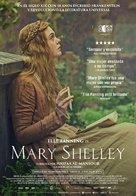 Mary Shelley - Spanish Movie Poster (xs thumbnail)