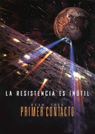 Star Trek: First Contact - Spanish Movie Poster (xs thumbnail)