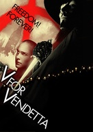 V for Vendetta - DVD movie cover (xs thumbnail)