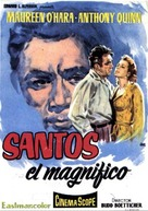 The Magnificent Matador - Spanish Movie Poster (xs thumbnail)
