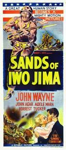 Sands of Iwo Jima - Australian Movie Poster (xs thumbnail)