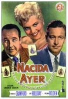 Born Yesterday - Spanish Movie Poster (xs thumbnail)