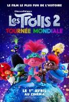 Trolls World Tour - French Movie Poster (xs thumbnail)