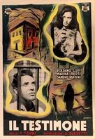Il testimone - Italian Movie Poster (xs thumbnail)