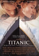 Titanic - Spanish Movie Poster (xs thumbnail)