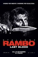 Rambo: Last Blood - Italian Movie Poster (xs thumbnail)