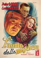 The Face Behind the Mask - Italian Movie Poster (xs thumbnail)